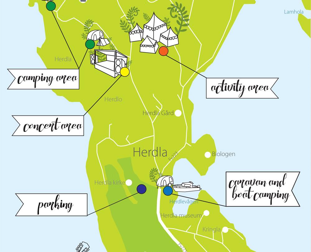 herdla kart Vinn helgepass til musikkfestivalen Plen Air   Askøyværingen herdla kart